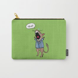 Gerbil Yawning Carry-All Pouch
