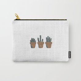Succulent Trio Carry-All Pouch