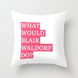 Gossip Girl Throw Pillows For Any Room Or Decor Style Society6