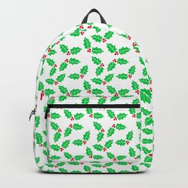 Holiday Holly and Berries Backpack