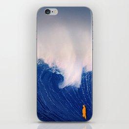 Blue Wave. iPhone Skin