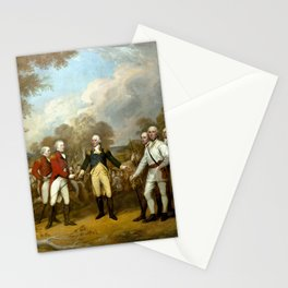The Surrender of General Burgoyne Stationery Cards