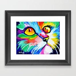 Cole's Cat Framed Art Print