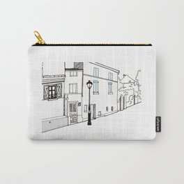 Montmartre street in Paris Carry-All Pouch