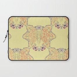 Atlantic Puffin ~ Yellow  Laptop Sleeve