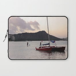 Hawaii in the morning-Traveling series Laptop Sleeve