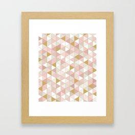 GOLDPINK Framed Art Print