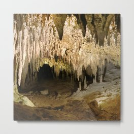 341 - Abstract cave design Metal Print