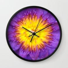 Flower Wall Clock