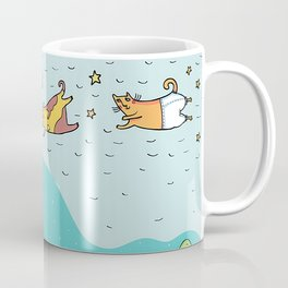When Cats Fly Coffee Mug