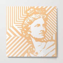 Gods Geometric - Apollo Metal Print