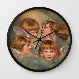 Little Angels - Kleine Engelchen Wall Clock