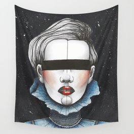 Space Princess Wall Tapestry