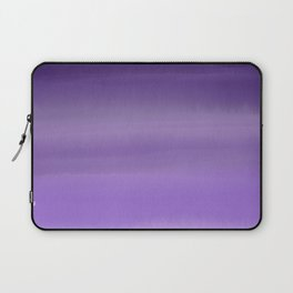 Modern painted purple lavender ombre watercolor Laptop Sleeve