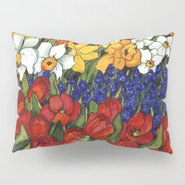 Spring Tri Color Pillow Sham