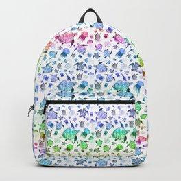 Ocean Life - Rainbow Colors Backpack