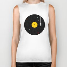 Music, Everywhere Biker Tank