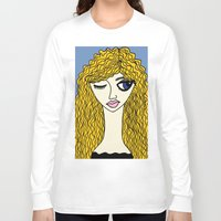 sassy Long Sleeve T-shirts featuring Sassy by Kurit Mikay