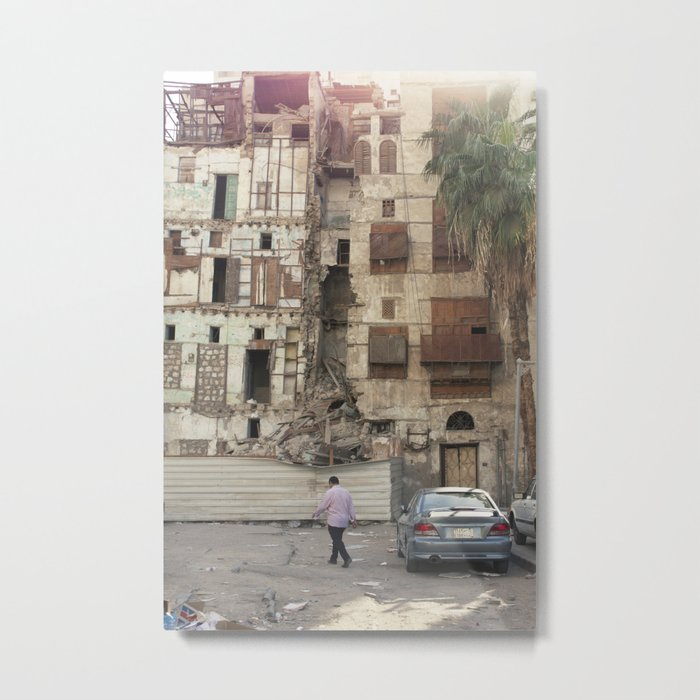 Sunset on The Rubble! Metal Print