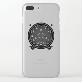 Directional Gyro Flight Instruments Clear iPhone Case