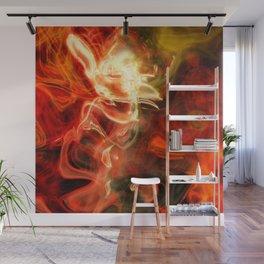 Fire Lights Wall Mural