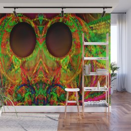 Alien's festive clothes ... Wall Mural