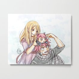 That's my girl! Metal Print