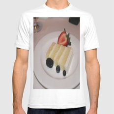 Slice of a Wedding Cake White MEDIUM Mens Fitted Tee