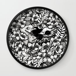 [bird.] [me hard.] Wall Clock