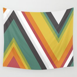 Triangles - Rainbow Dash Wall Tapestry