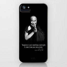 Dalai Lama-Tibetan- Buddhism-Nobel Peace-religion iPhone Case