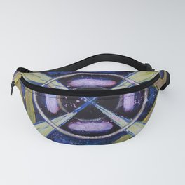 Abstract acrylic painting Fanny Pack