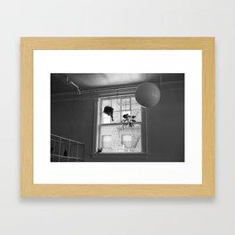 Hanging Shapes Framed Art Print