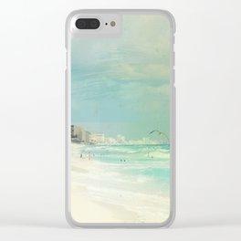 Carribean sea 4 Clear iPhone Case