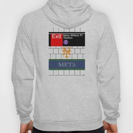 NYC Mets Subway Hoody