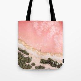 iOS 11 Rose Gold iPad background Tote Bag