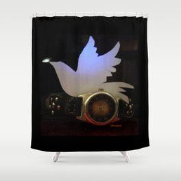 Time For Peace On Earth Shower Curtain