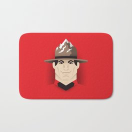 Mountie Bath Mat