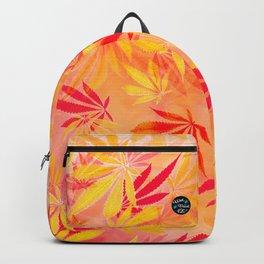 Citrus Cannabis Swirl Backpack