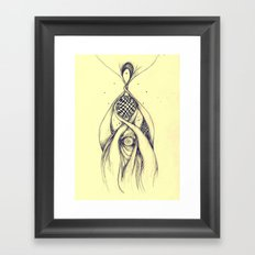 balmoon Framed Art Print