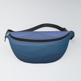 Waves of Blue Fanny Pack