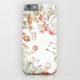 Ethereal Pastel Summer Garden iPhone Case