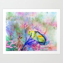 Picasso Triggerfish Art Print