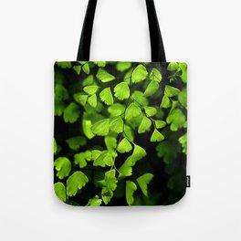 Maidenhair Ferns Tote Bag