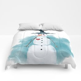 Thin Snowman Comforters