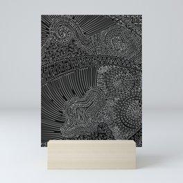 tiny lines Mini Art Print