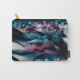 "DAHLIA ""Upright and Unbending"" Carry-All Pouch"