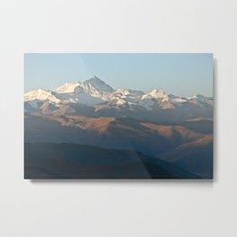 Mount Everest at dawn Metal Print