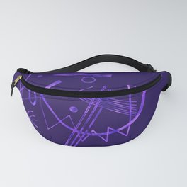 Kandinsky - Purple Abstract Art Fanny Pack