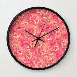 Bloomed Wall Clock